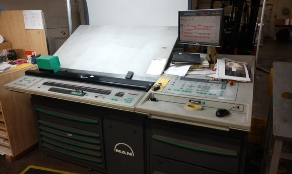2006 Roland 500 5-color with UV